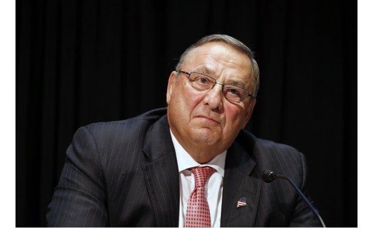 Maine: Gobernador deja mensaje obsceno a legislador