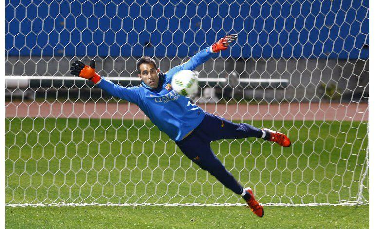El debut de Bravo con el City sería contra el United