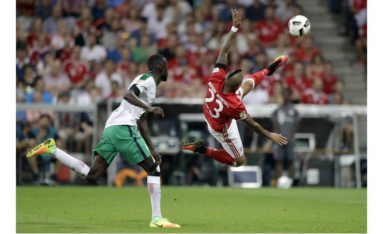Bayern aplasta 6-0 al Bremen al iniciar la Bundesliga