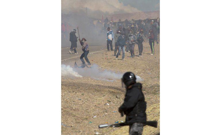 Morales afronta las protestas más violentas en una década