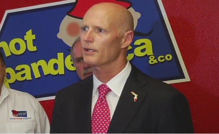 Rick Scott escoge la fábrica pan de yuca en Hialeah para hablar sobre el empleo en el estado