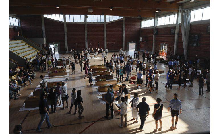 Italia celebra un funeral de Estado por víctimas del sismo