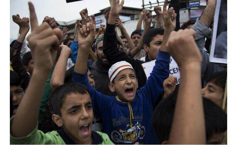 Capturan a dirigente separatista en Cachemira