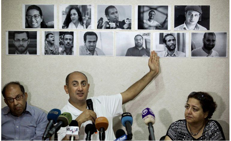 Libertad para abogado egipcio que criticó a presidente