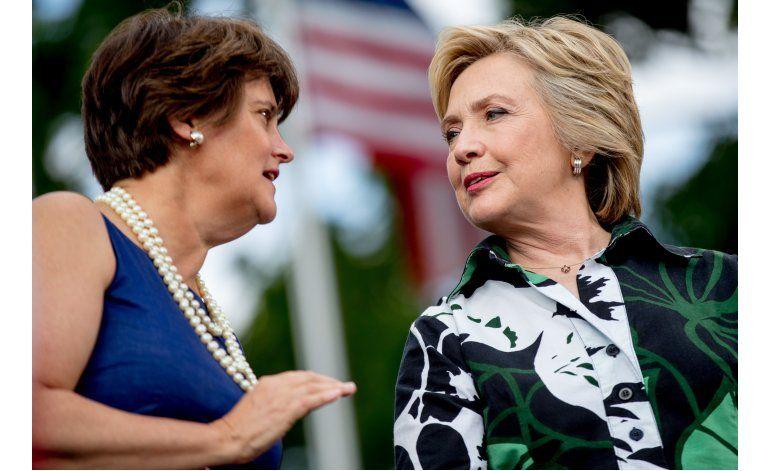 La esposa de Tim Kaine no es ajena a la escena política
