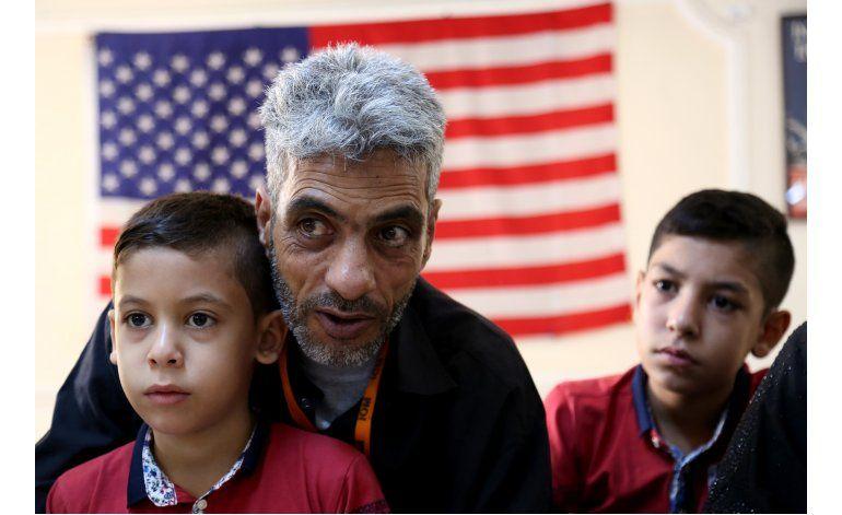 EEUU logra meta de reasentamiento de refugiados sirios