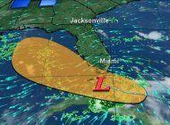 el sur de florida no padecera un ciclon, pero si fuertes lluvias