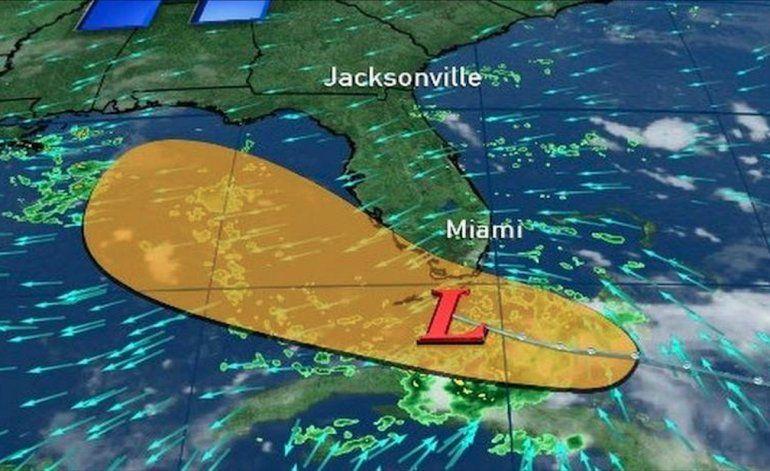 El sur de Florida no padecerá un ciclón, pero sí fuertes lluvias