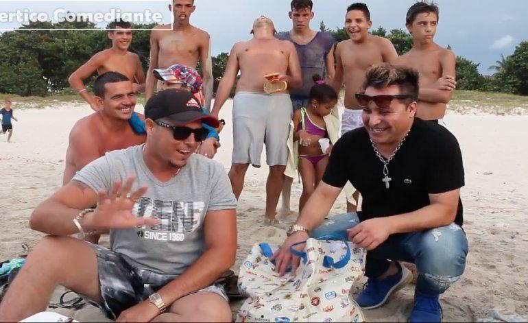 ¿Qué prefieren los cubanos; un camión para la playa o un hotel 5 estrellas?