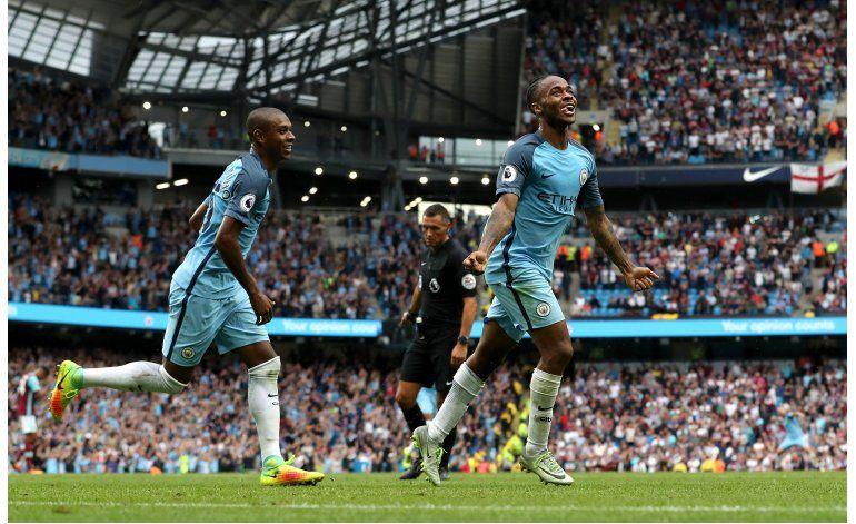 Con 2 de Sterling, Man City derrota 3-1 a West Ham
