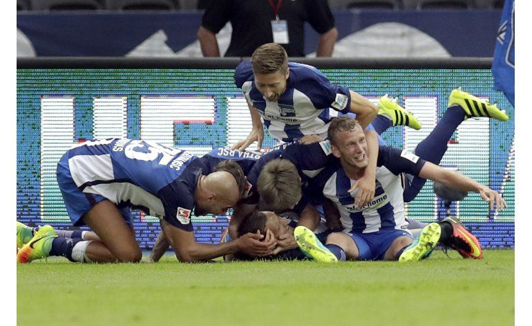 Hertha logra triunfo dramático sobre Friburgo