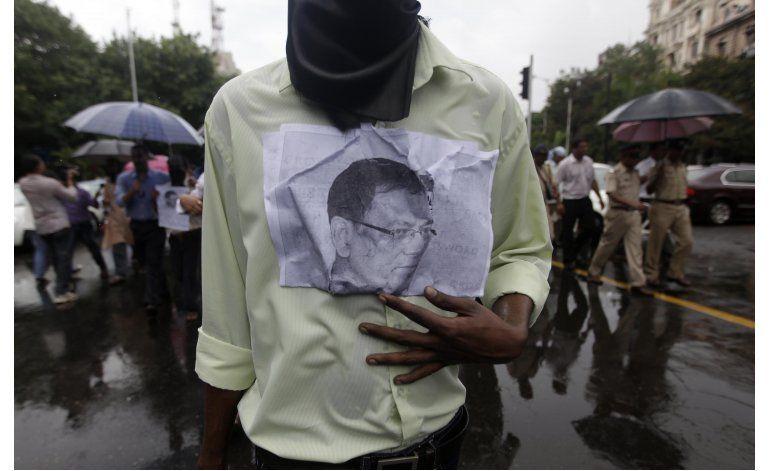 Grupo acusa a India de no proteger a periodistas