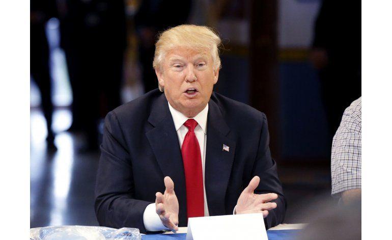 Trump parece empezar a virar sobre el tema de la inmigración