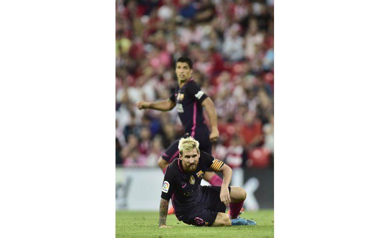 Argentina: Agüero y Pastore, bajas; Messi, con molestias