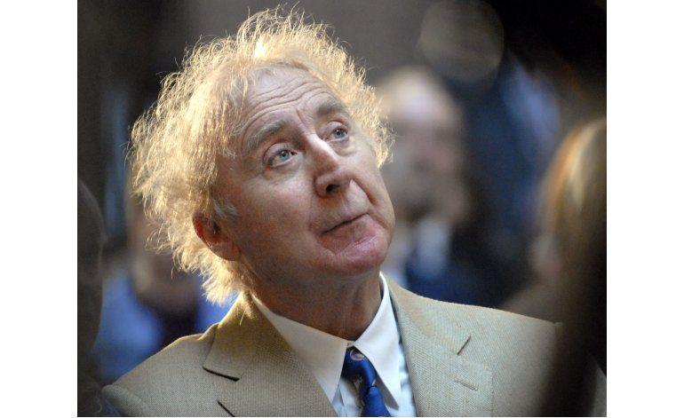 Gene Wilder, astro de Willy Wonka, muere a los 83 años