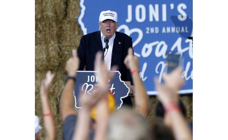 Trump busca aclarar su postura en materia de inmigración