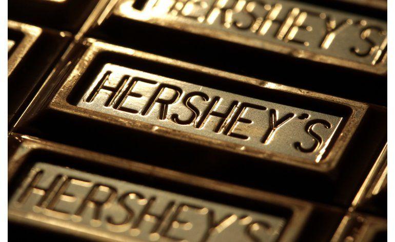 Mondelez cancela negociaciones de compra con Hershey Co.