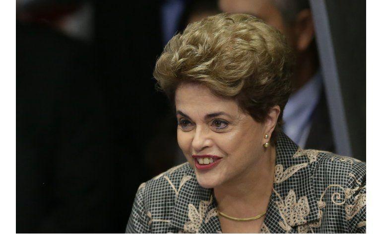 Rousseff se declara inocente ante el Senado