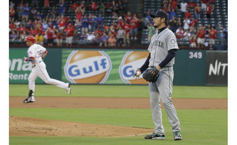 Darvish, Beltrán lideran a Rangers para ganar 6-3 a Seattle