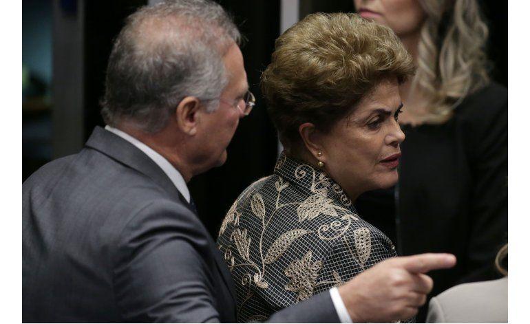 Senado debate el destino de Rousseff y posterga votación