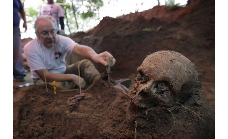 Paraguay: Identifican por primera vez restos desaparecidos