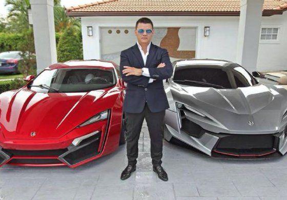 Un cubano trae a Miami los carros futuristas de Dubái