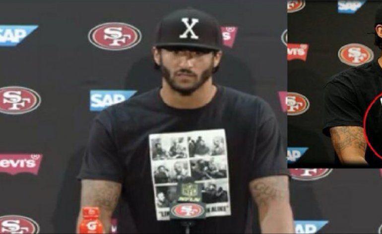No cantó el himno americano, y luego apareció vistiendo pullover con imagen de Fidel Castro en conferencia de prensa