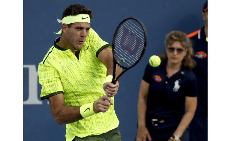 Tras Río, Del Potro reaparece triunfal en el US Open