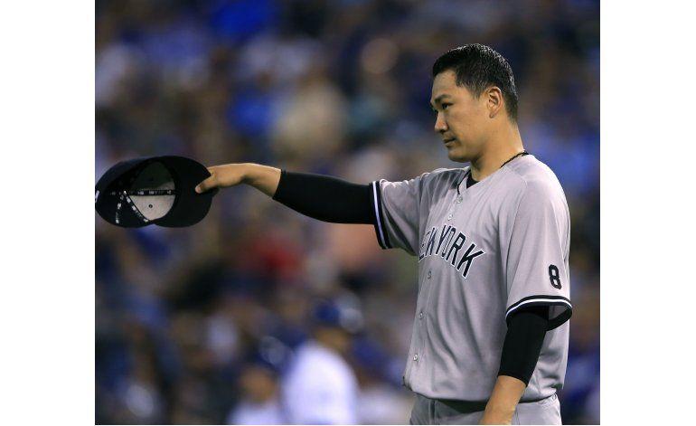 Yankees aguantan la lluvia, se imponen a Reales 5-4 en 10mo