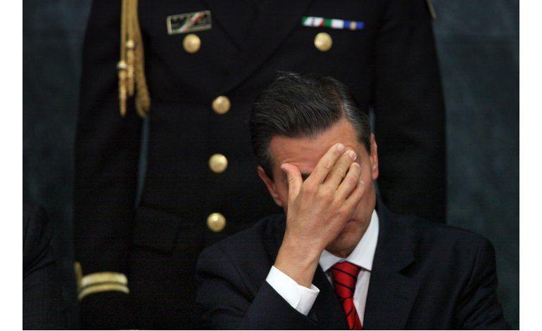 Peña Nieto dará su informe sobre un año conflictivo