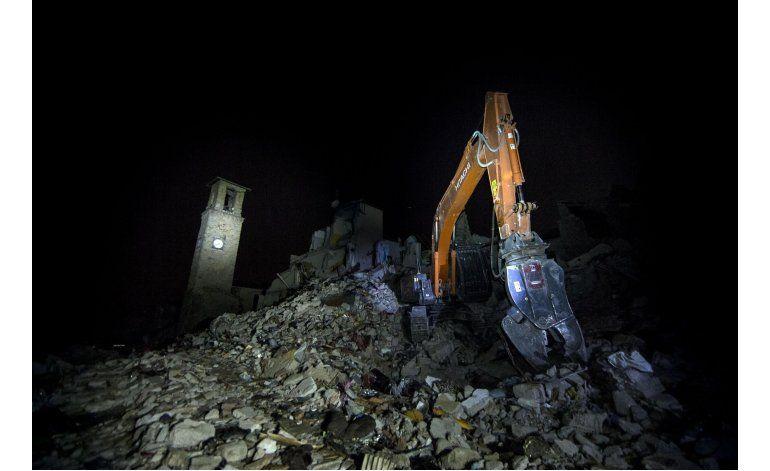 Italia: Investigación post-terremoto comienza con contratos