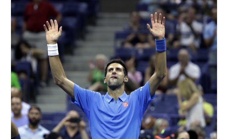 Djokovic avanza sin jugar a tercera ronda del US Open