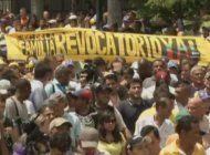 masivas manifestaciones se esperan en venezuela para pedir el revocatorio contra nicolas maduro