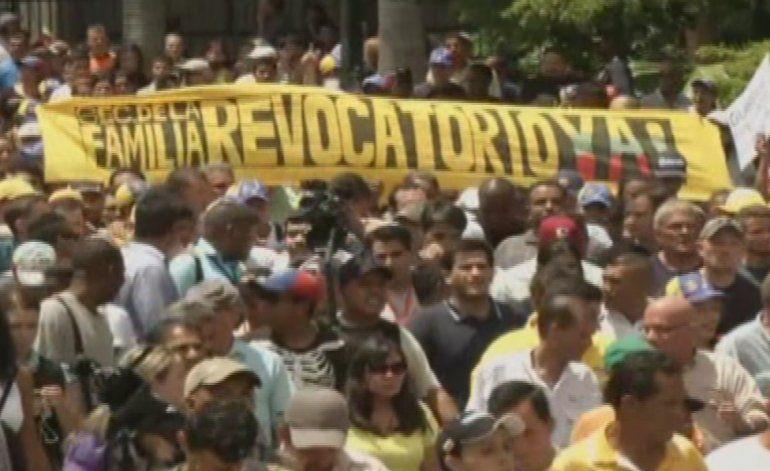 Masivas manifestaciones se esperan en Venezuela para pedir el revocatorio contra Nicolás Maduro