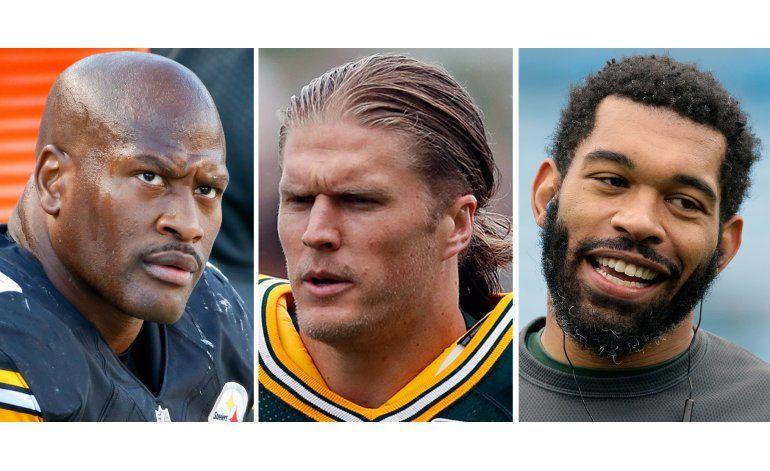 NFL exonera a Harrison, Matthews y Peppers en caso de dopaje