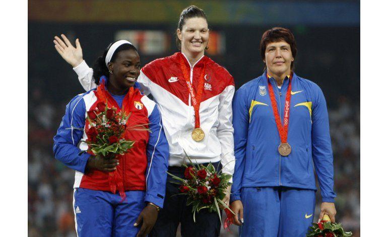 Atleta cubana pierde plata olímpica de 2008 por dopaje