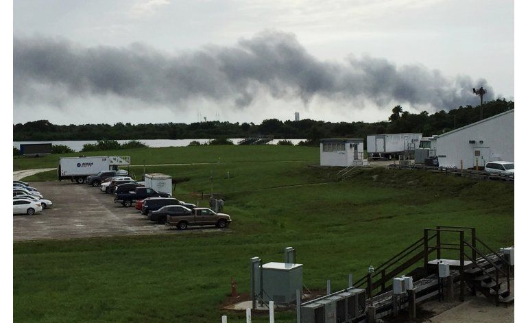 Explosión durante prueba de cohete SpaceX en Florida