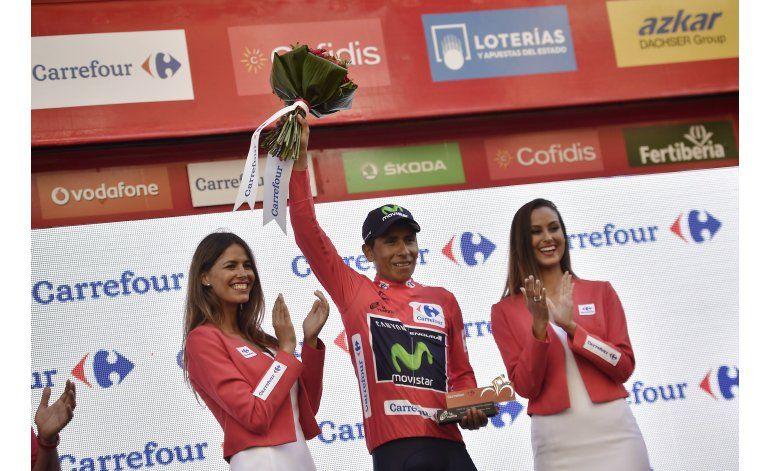 Quintana conserva liderato en  Vuelta a España