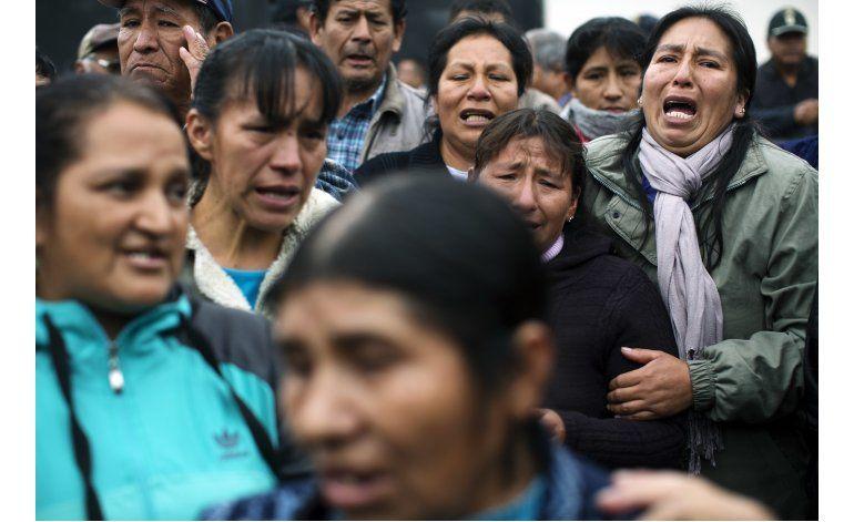 Perú: 10 militares condenados por matar a 71 en los Andes
