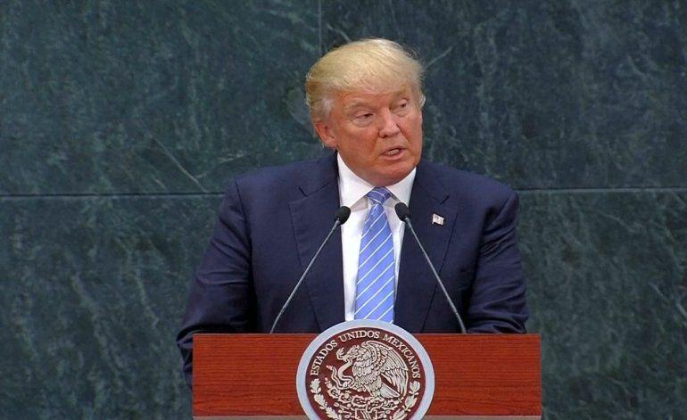 Donald Trump asegura que México tiene que pagar por el muro