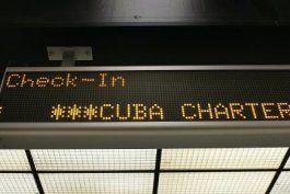 desde el proximo 10 de marzo los vuelos charter a cuba solo podran viajar a la habana