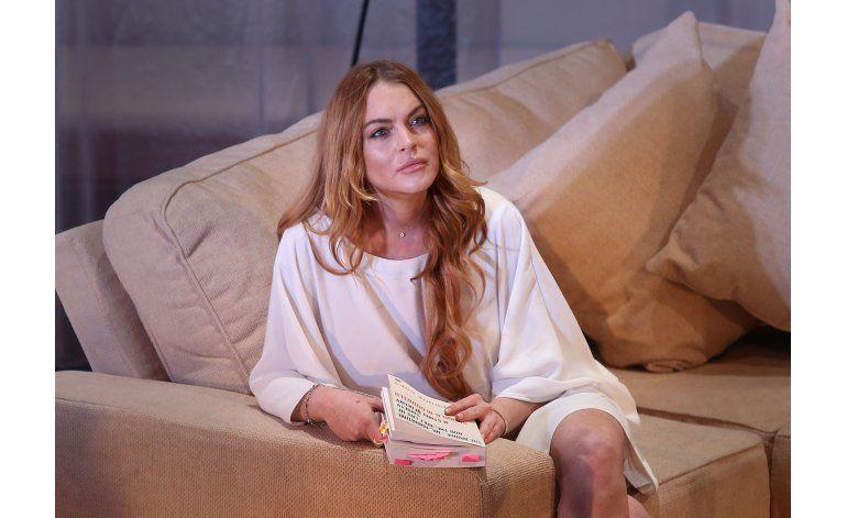 Rechazan demanda de Lindsay Lohan