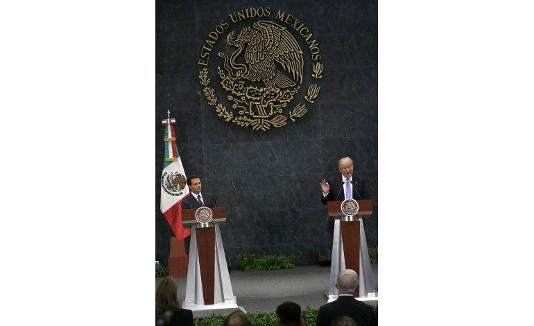 Peña dice que Trump es una amenaza y niega plagio de tesis