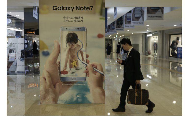 Samsung deja de vender Galaxy Note 7 tras explosión baterías