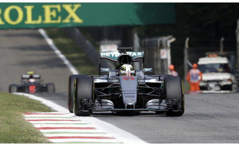 Mercedes encabeza prácticas del GP de Italia