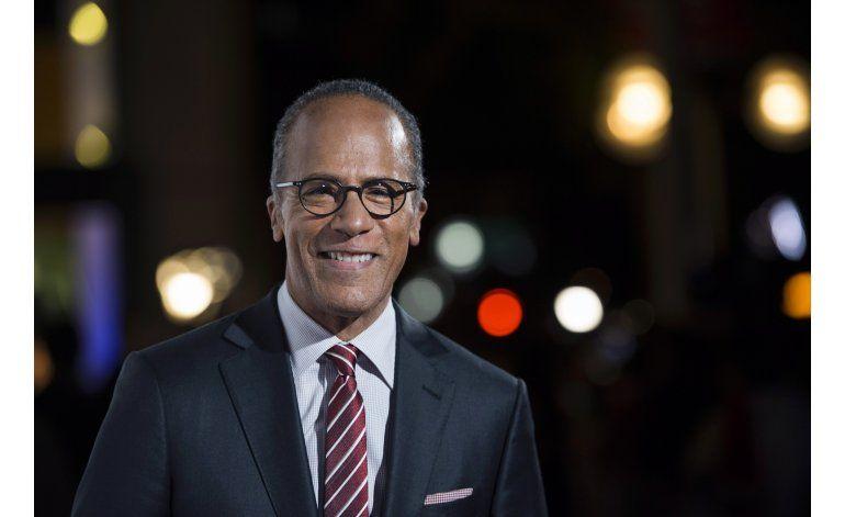 Holt, Cooper moderarán debates presidenciales en EEUU