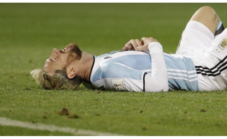 Messi no juega con Venezuela; viaje de Argentina en duda