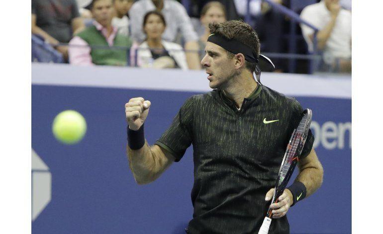 Del Potro en el US Open, como en su casa