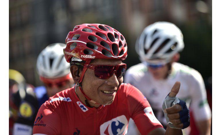 Conti gana 13ra etapa de la Vuelta; Quintana sigue de líder