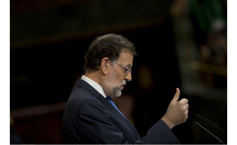 Parlamento rechaza de nuevo investidura de Rajoy